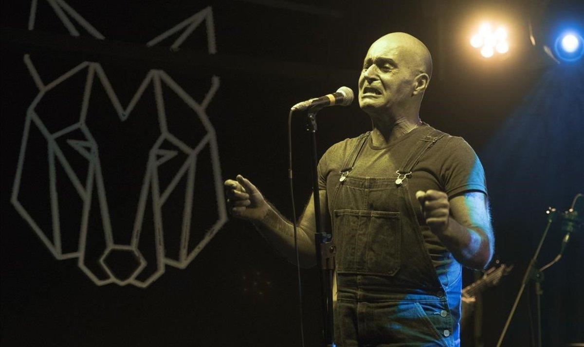 Javier Corcobado, en la sala Wolf, el sábado.