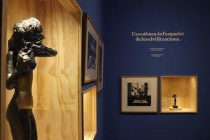 El Palau Robert recuerda Pau Casals, Apel·les Fenosa, Àngel Guimerà y Andreu Nin en una exposición