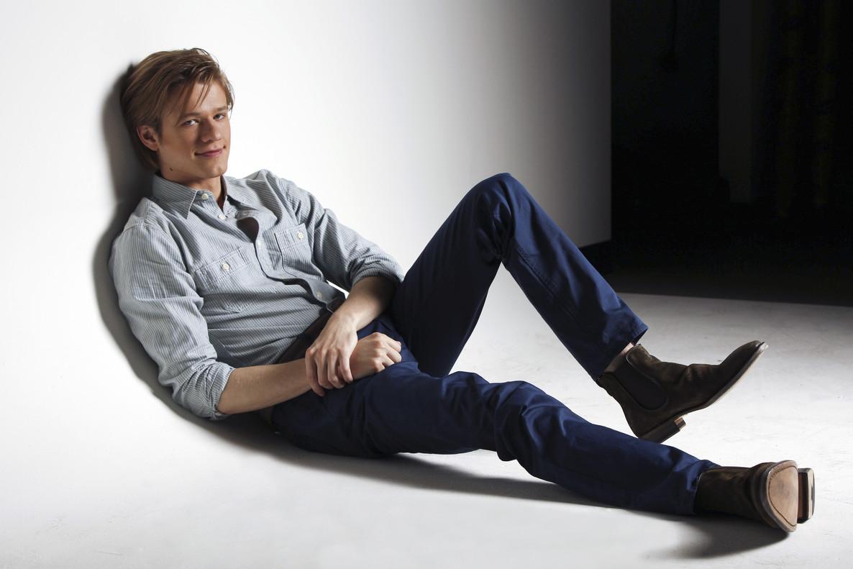 Lucas Till, protagonista de la renovada serie 'McGyver'.