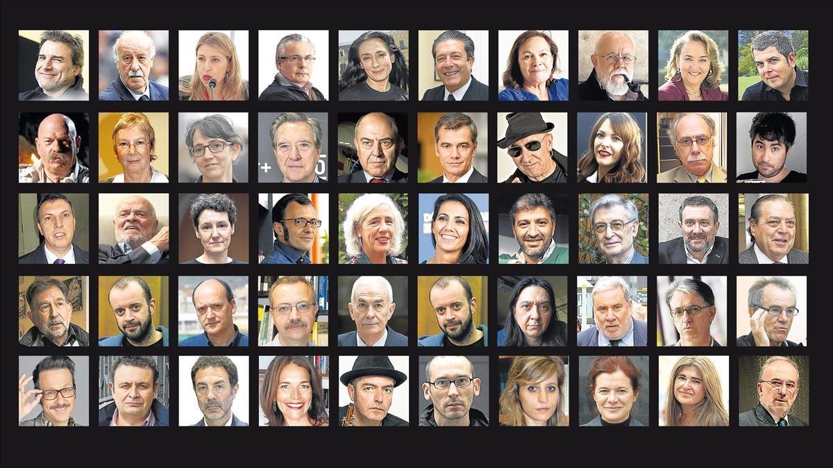 50 voces de fuera de Catalunya sobre el 2-O
