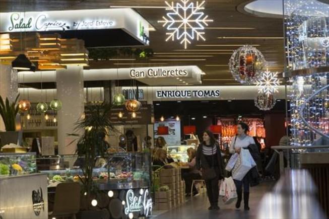 Els restaurants de mercat al centre comercial gl ries - El mercat de les glories ...