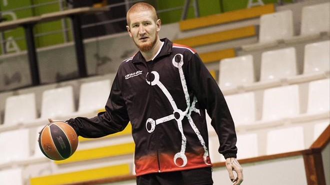 Robert Swift, jugador del Circulo Gijón.