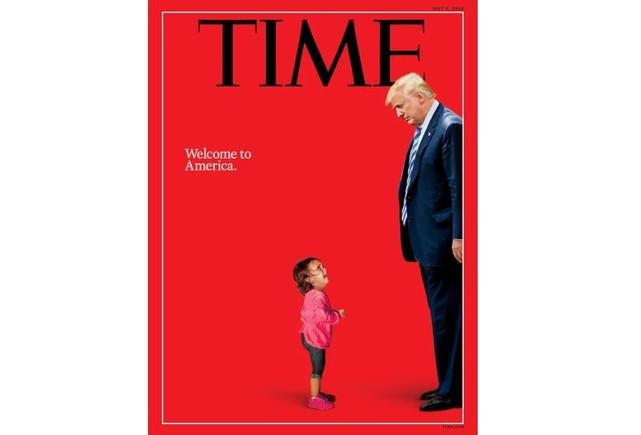 Las portadas de prensa que ponen cara a la crisis humanitaria estadounidense