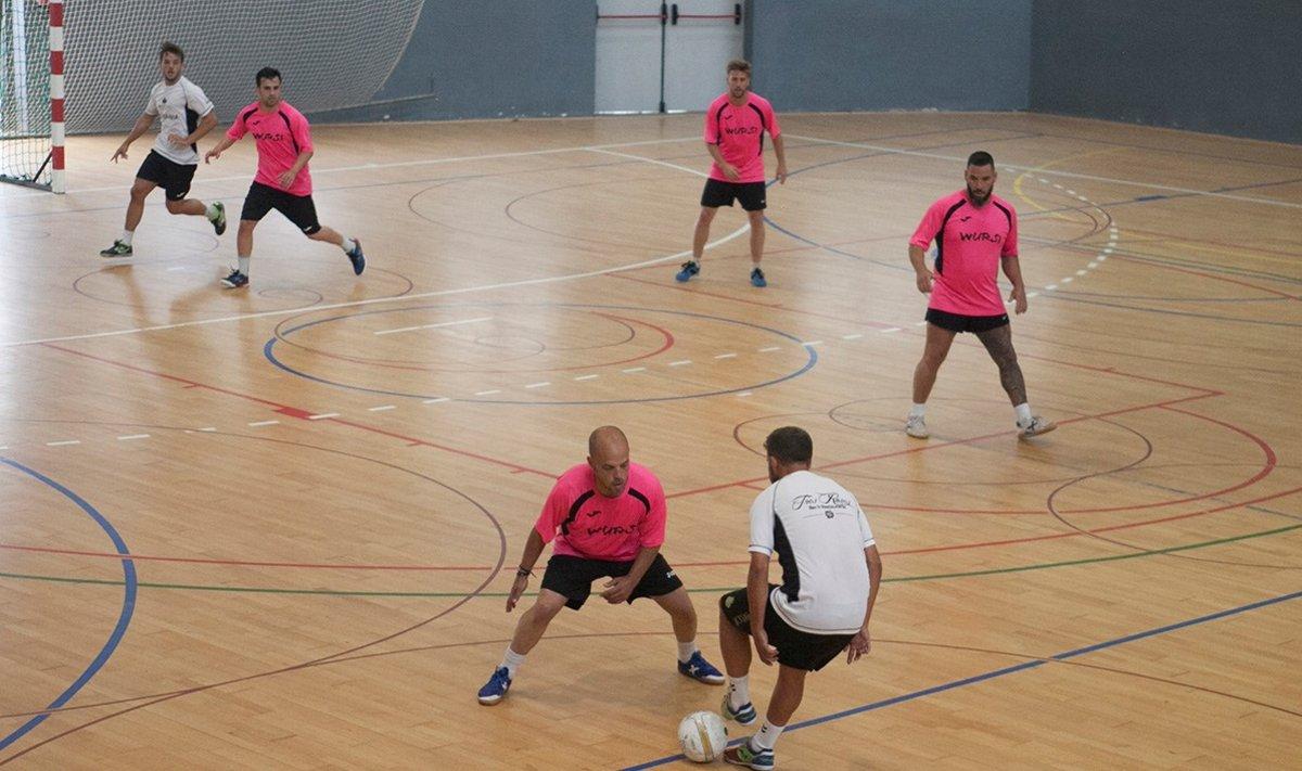 Torneo de Fútbol Sala en Parets del Vallès, el 2018.