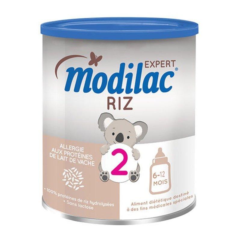 Una leche de arroz de Modilac.