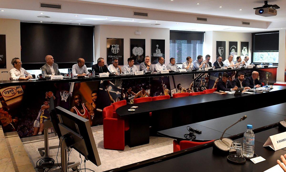 Imagen de la Asamblea General de la ACB.
