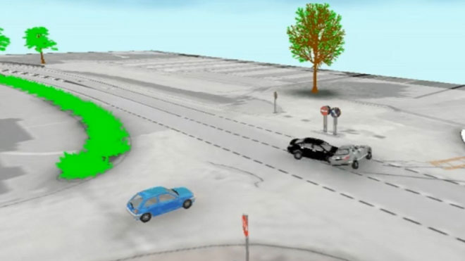 Trànsit millora la reconstrucció d'accidents amb les 'caixes negres' dels cotxes