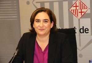 Ada Colau visita Jordi Sànchez i Jordi Cuixart a la presó de Lledoners