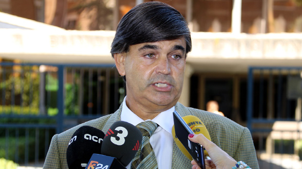 Agustí Carles, abogado de Carme Forcadell, explica por qué han presentado el escrito de recusación ante el TC