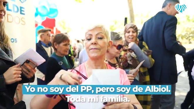 Albiol vuelve a renegar de sus siglas en el segundo vídeo de su campaña Yo voto a Albiol.