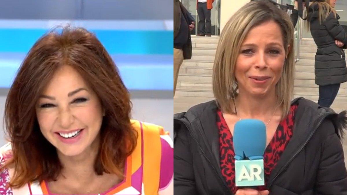 Ana Rosa Quintana y Noelia Otero.