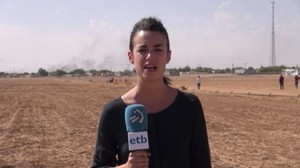 La periodista de EiTB Ane Irazabal.