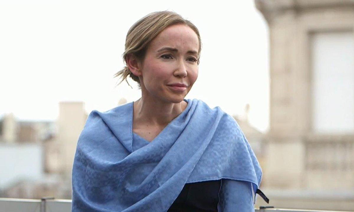 Ángela Dobrowolski, en el programa 'En el punto de mira'.