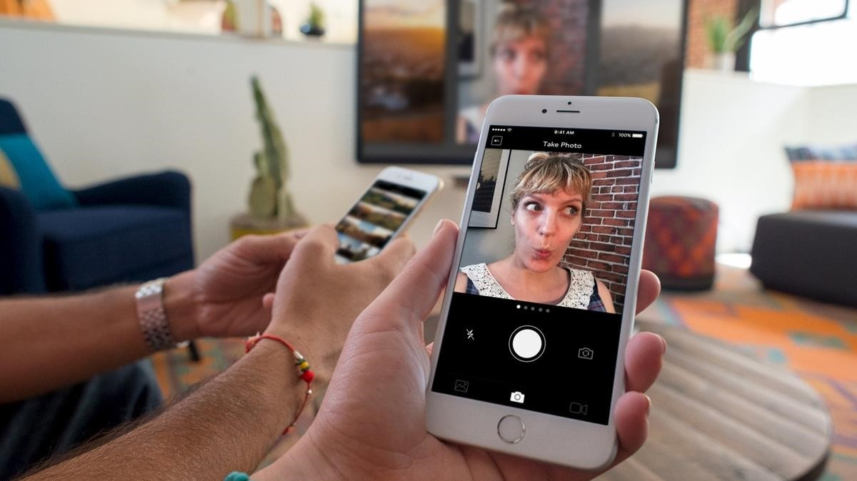 Imagen de la presentación de la app para Apple TV, en el 2015.