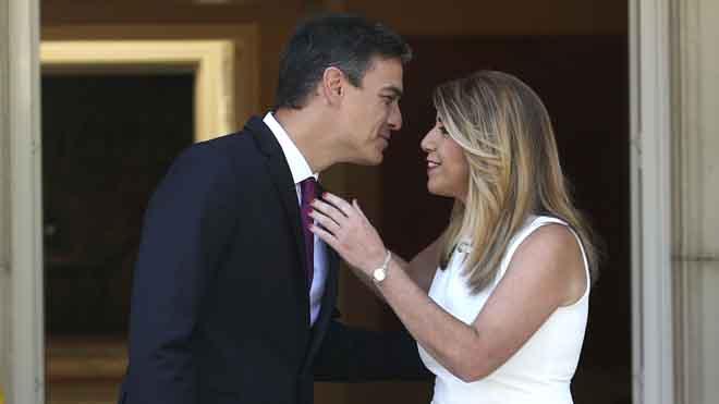 Sánchez i Díaz estrenen lluna de mel