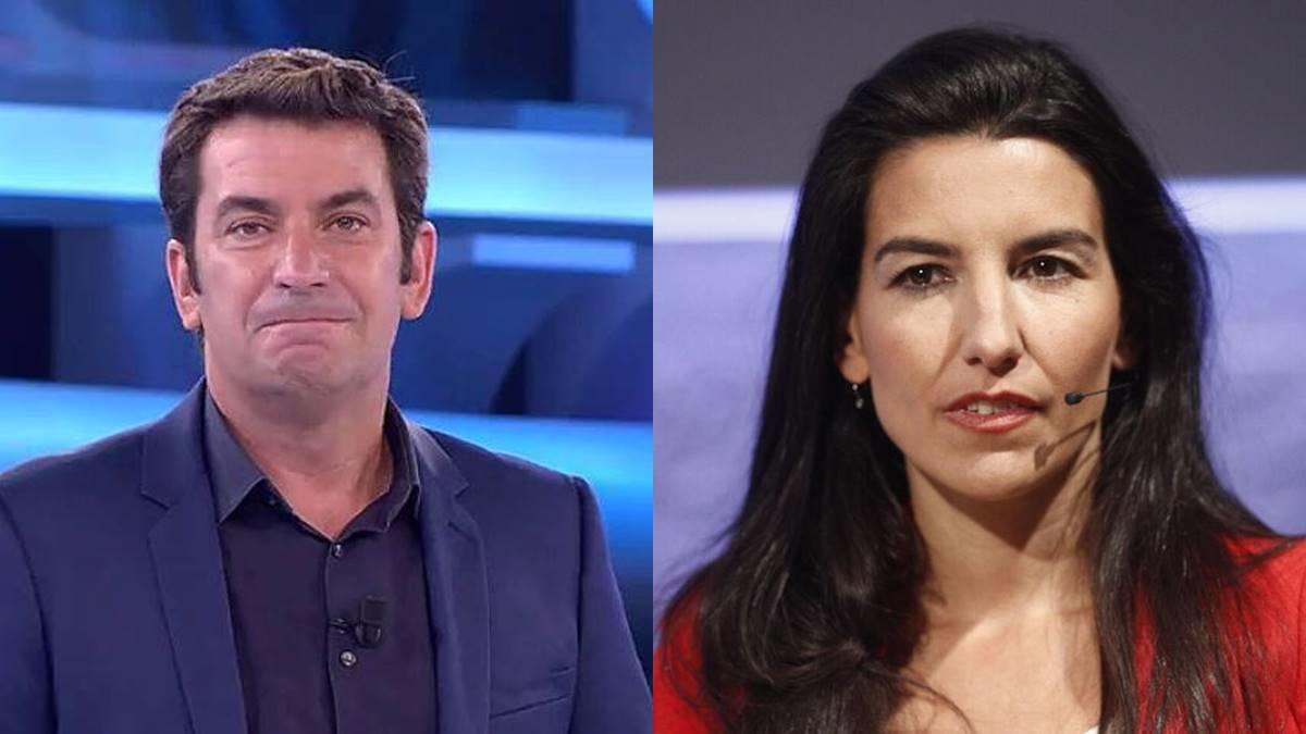 Arturo Valls y Rocío Monasterio.