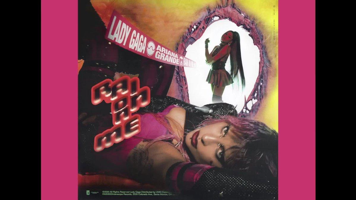 Así suenan Lady Gaga y Ariana Grande en 'Rain on me'.