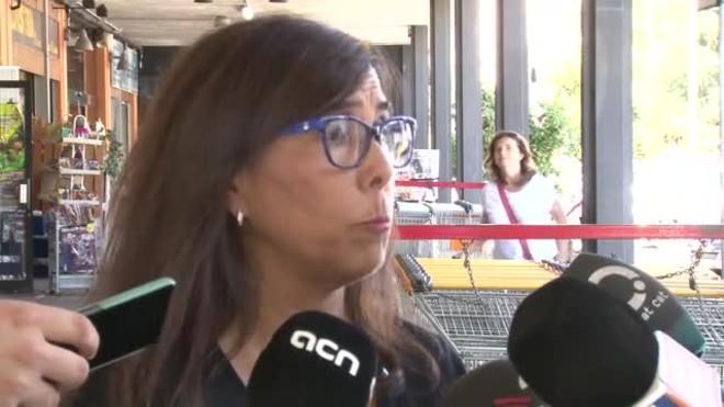 Cristina Paraira, teniente alcalde de Seguretat Ciutadana, explica los hechos.