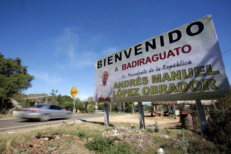 A Badiraguato el mandatario mexicano llegó con su programa de ayudas sociales y económicas.