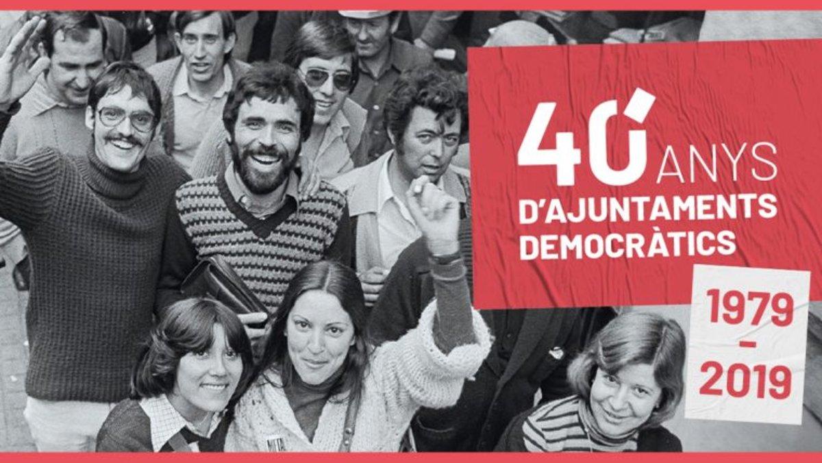 Barcelona commemora el 40è aniversari de les primeres eleccions municipals democràtiques