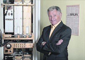 GUARDÓ. Kleinrock, pare de la tecnologia que fa possible internet.