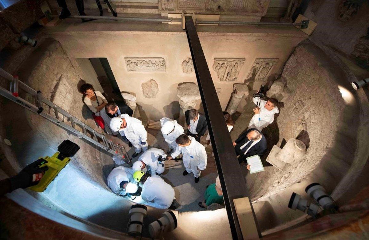 Nuevas operaciones en el Cementerio Teutónico — Caso Orlandi