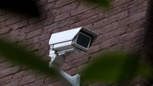 Una imagen de una cámara de videovigilancia.