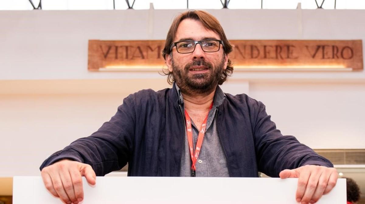 Camil Ros, secretario general de la UGT de Catalunya.