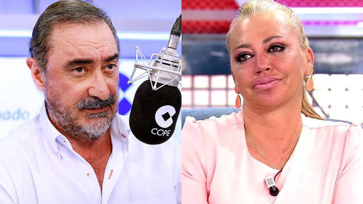 Carlos Herrera responde a la duda de una oyente: ¿Ficharía a Belén Esteban para su programa?