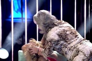 El momento más loco de 'Supervivientes: Tierra de nadie': Carmen Gahona sacude a Oriana