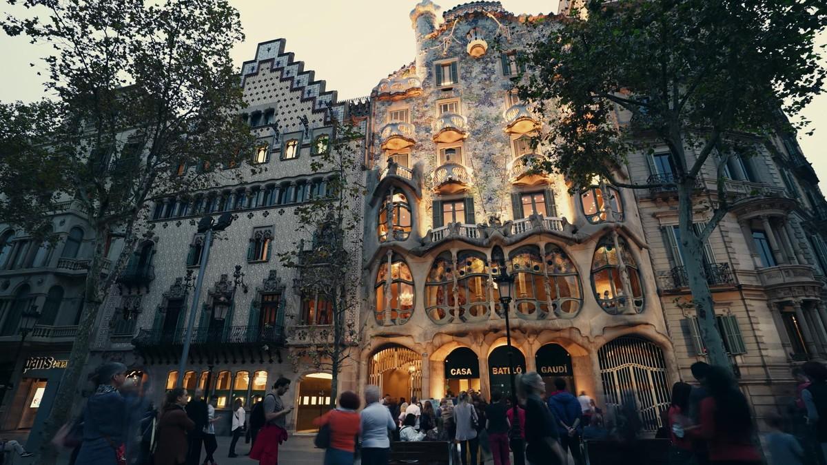 LaCasa Batlló, en el paseo de Gràcia de Barcelona.