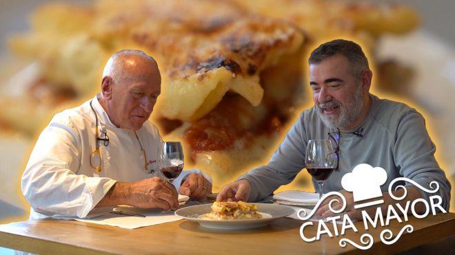 Cata Mayor: Los macarrones de cardenal de Carles Gaig.