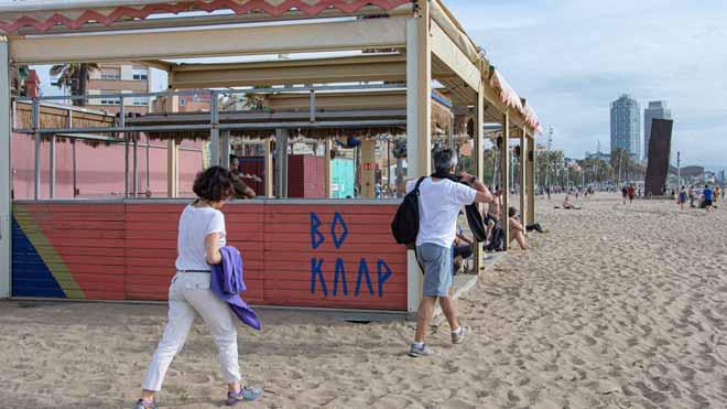 Els xiringuitos de platja de Barcelona obriran després d'un acord 'in extremis' amb l'Ajuntament