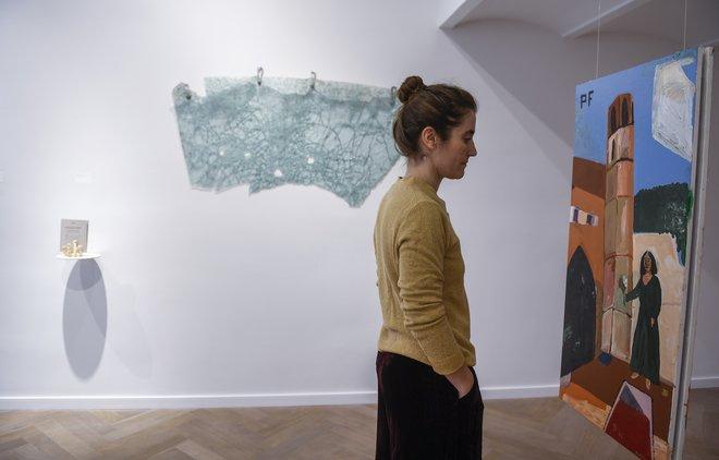 Algunas de las obras expuestas en Chiquita Room.