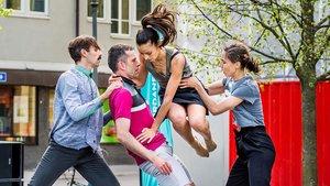 La compañía de danza Thomas Noone Dance.