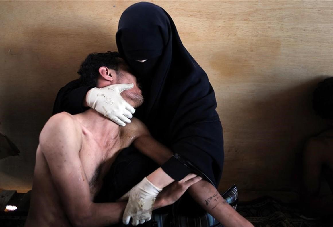 Con esta imagen tomada en el Yemen, Samuel Aranda ganó el World Press Photo en el 2012.