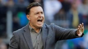 Cristóbal Parralo ha dejado de ser técnico del Deportivo.