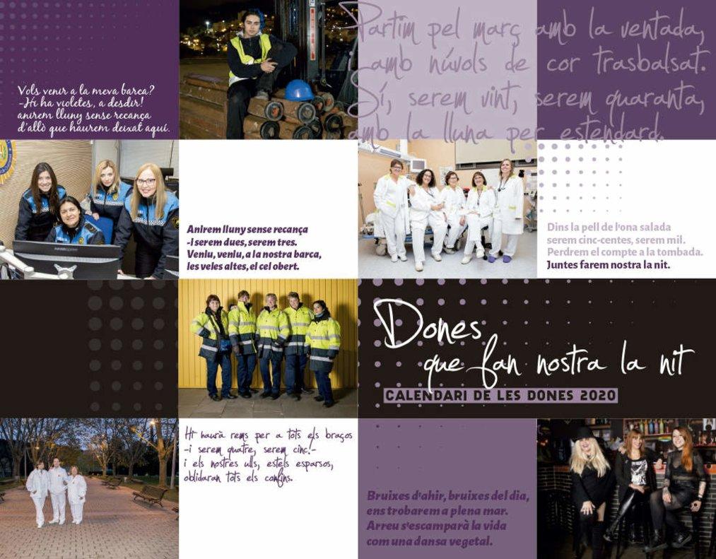Imagen del Calendario 2020: Dones que fan la nostra nit.
