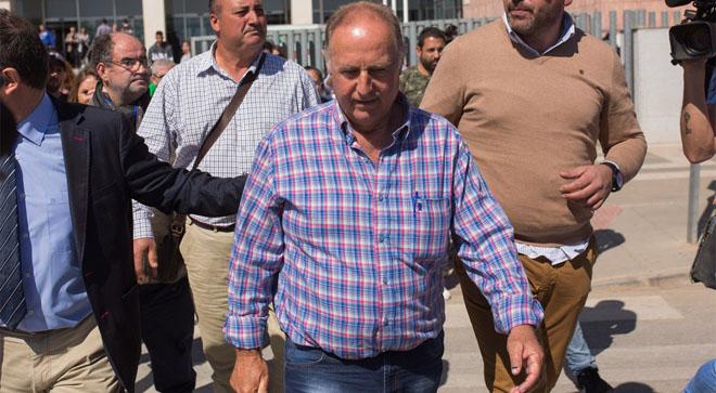 Antonio Sánchez, el empresario que ejecutó el pozo de Totalán, tras declarar