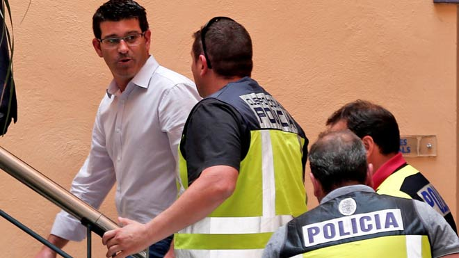 Detenido el presidente de la Diputación de Valencia por corrupción.