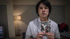 El dibujante de manga Yoshiaki Sukeno, este jueves en el Salón del Manga.
