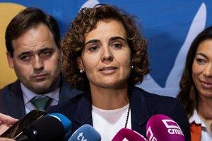 La candidata del PP a las elecciones europeas y portavoz parlamentaria del partido en el Congreso, Dolors Montserrat.