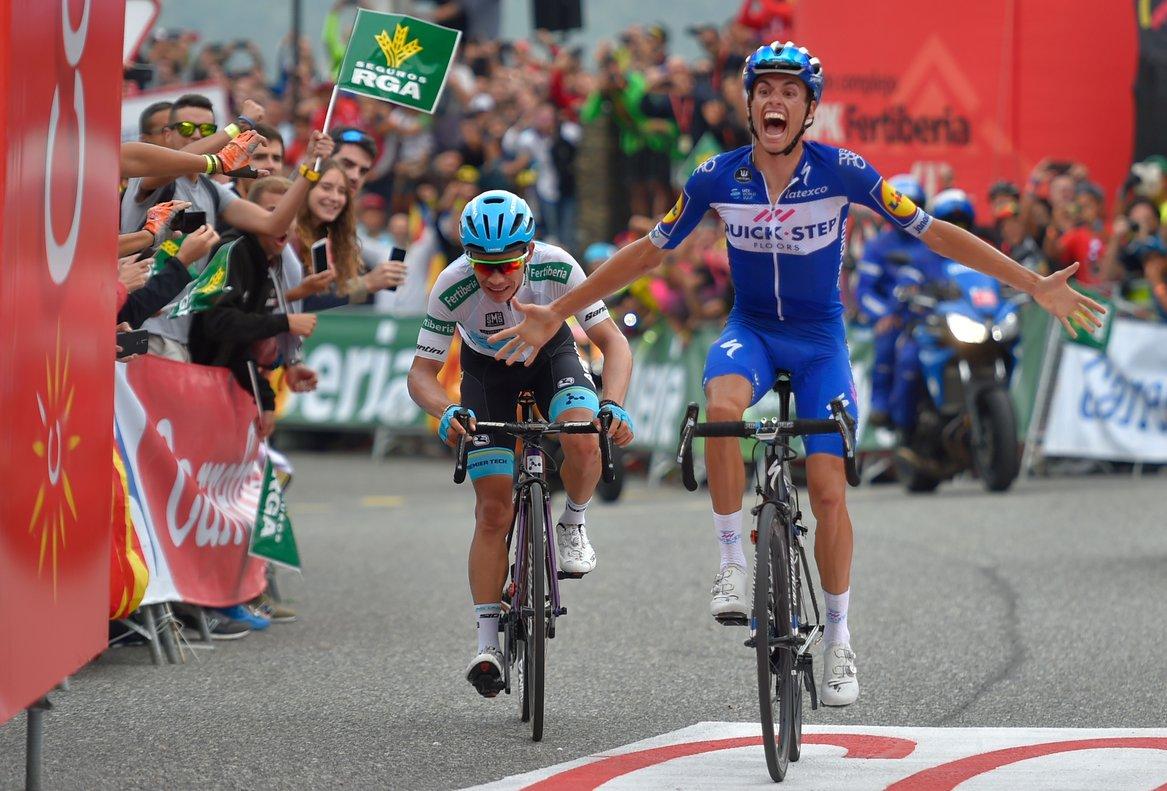 Enric Mas triunfa en la Gallina andorrana por delante del colombiano 'Superman' López.