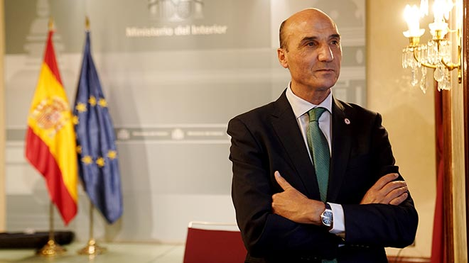 El general de la Guardia Civil Manuel Navarrete, director del Centro de Inteligencia contra el Terrorismo y el Crimen Organizado (CITCO), en el ministerio de Interior.