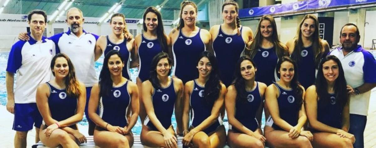 El equipo del Club Natació Sabadell campeón.