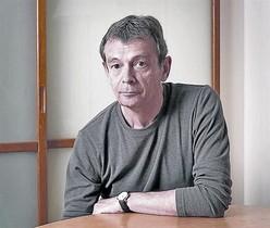 El escritor francés, ganador del Goncourt, Pierre Lemaitre.