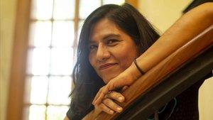 La escritora mexicana Socorro Venegas.