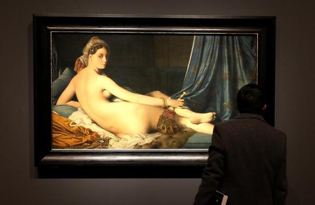 La gran odalisca, una de las piezas más icónicas de Ingres, en el Prado.