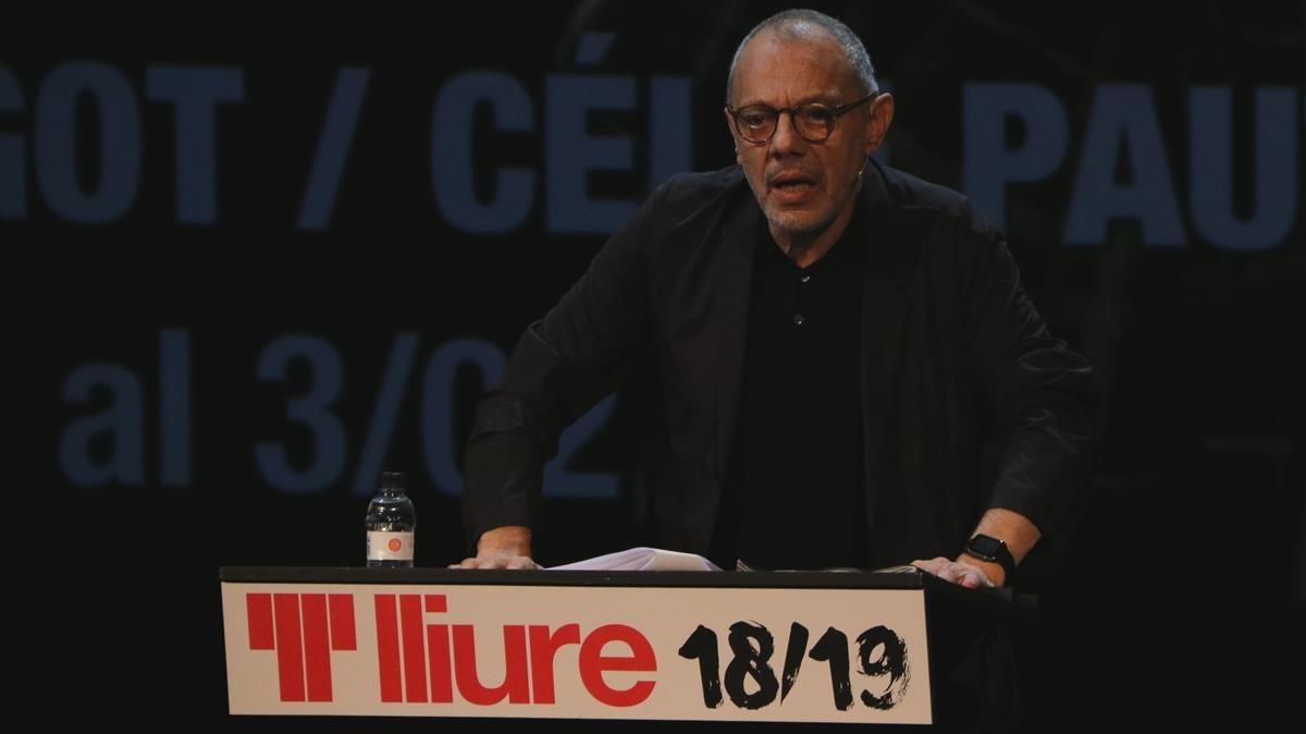 """Un col·lectiu demana la dimissió de Lluís Pasqual com a director del Lliure per """"despotisme"""""""