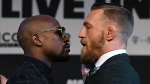 Mayweather Jr. y McGregor ya están en Las Vegas y calientan el ambiente